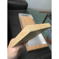 China 6063 T6 Wood Veneer Bamboo Skin Surface 1mm Aluminium Extrusion Profiles for sale
