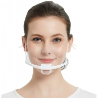 Buy cheap Earloop Style Transparent Plastic Face Cover For Chef from wholesalers