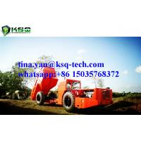 Quality RT-20 Low Profile Dump Truck For Tunneling Rock Excavation With 10m3 Capacity wholesale