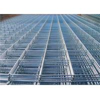 Buy cheap Hot Dipped Galvanised Mesh , Ribbed Cold Rolled Steel Reinforced Welded Wire from wholesalers