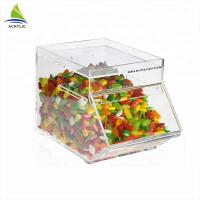 Quality Promotional Acrylic Candy Display Custom Acrylic Candy Box Environmentally Friendly wholesale