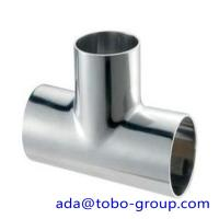 Quality Super duplex uns s32750 Stainless Steel Tee 1 - 48 inch ASME B16.9 wholesale