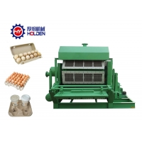 Quality Diesel Waste Paper Recycle 4000pcs Egg Tray Manufacturing Machine wholesale