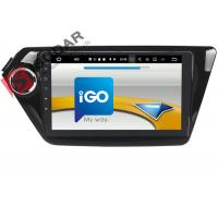 Quality Black Android Car Navigation System Kia Rio Car Stereo With Bluetooth And Gps And Backup Camera wholesale