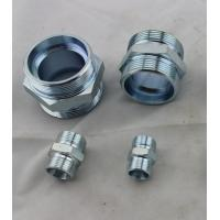 China Eaton 1C Male Thread Metric Compression Tube Fittings Connector L Series 24 Degree on sale