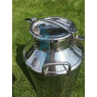 Cheap Two Handles A Grade Safety SGS Certification Tin Milk Can Stainless Steel Milk Can for Sale Milk Bucket for sale