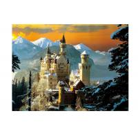 Quality Stock Neuschwanstein Castle 3D Lenticular Living Room Painting Picture PET Printing wholesale