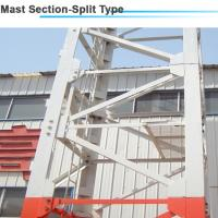 Quality 1.6*1.6*3m Split Sturcture Mast Section for 12ton 45m jib Luffing Tower Crane wholesale