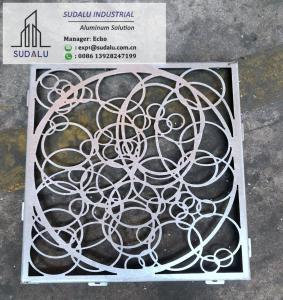Quality SUDALU Aluminum CNC Curvel Panel for Decoration from China 2mm Aluminum Expanded Panel wholesale