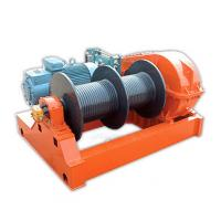 Quality Fast Speed 1 Ton - 10 Ton Electric Wire Rope Winch  , Winding Engine JKD Series wholesale