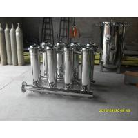 """Quality 5"""" Industrial Bag Filter Housing Plastic For Coating , 150 PSI Pressure wholesale"""