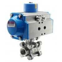 China STC Air Acturated Ball Valve (KS/KD Series) on sale