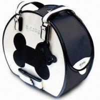 Quality Bike Pet Carrier with Glossy/Pearly Finish and Black Rim wholesale