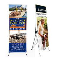Quality Advertising x banner standing banner promotional display economic printing x-banner wholesale