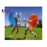 Quality 1M Pvc Inflatable Sports Equipment Blow Up Human Hamster Ball For Outdoors Sports wholesale