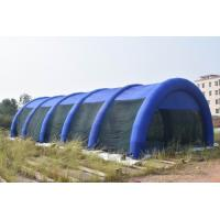 Quality 30m Long Large Inflatable Paintball Arena For Outdoor Activity wholesale