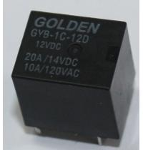 Quality 20A Miniature High Sensitive Latching Power Relay 9V 12V 24V for Cars wholesale