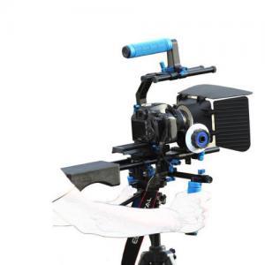 Quality Dslr rig movie kit with shoulder mount+Hand Grip+Follow Focus+Matte BoxFor Camcorder wholesale