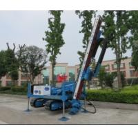 Quality Anchor Drilling Rig Foundation Pile Drilling Machine For Jet Grouting / Water Well wholesale