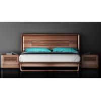 China Full Solid Wood Uruguay Rose Wood Bedroom Furniture , 1.8*2.0 King Size Bed on sale