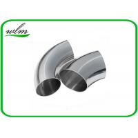Quality Durable Sanitary Butt Weld Fittings 45 / 90 / 180 Degree Bends Elbows Fittings wholesale