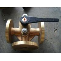 Quality JIS Standard Bronze 5K Flange Cocks Valve,three-way wholesale