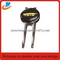 China Custom golf accessories for golf club/wholesale golf hat clips with your own logo design on sale