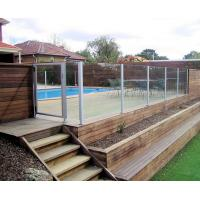 Quality Toughened frameless tempered glass fence panels resist shock , burglary , burst wholesale