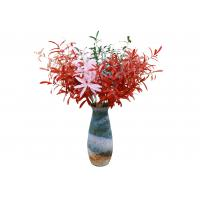 Quality Colorful Artificial Olive Branch , Artificial Tree Branches Decor Plastic + Iron Wire wholesale
