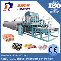 Buy cheap Waste Paper Wine And Egg Tray Machine , High Efficient Pulp Molding Machine from wholesalers