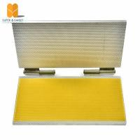 Quality Notebook Type Beeswax Foundation Sheet Casting Mold Machine portable foundation machine wholesale