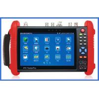 Quality Ip/Sdi/Cvi/Tvi/Ahd Tester 7 Inch Ips Hd Full View Capacitive Touch Screen With Wifi wholesale