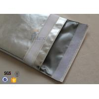 Buy cheap Large A4 Size No Itchy Fiberglass Fire Resistant Pouch Fireproof Document Bag product
