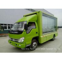 Quality Mobile LED Display Truck With 3 Side Scrolling Light Box , LED Advertising Van wholesale