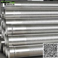 Quality Stainless Steel 316L Perforated Casing Pipe Slot Pipe for Well Drilling wholesale