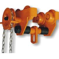 Quality GCL 619 Geared Single Trolley Manual Chain Hoist With Simple And Useful Structure For Mine wholesale