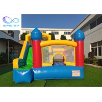 Quality En14960 Commercial Inflatable Bouncy Castle With Slide wholesale