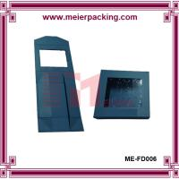 Quality Free printing cake boxes wholesale collapsible with clear PET window and magnet closure wholesale