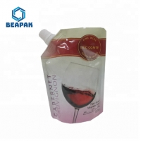 China Laminated Liquid Jelly Drink Juice Custom Spout Pouches on sale