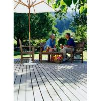 China Wood plastic composite outdoor decking plank on sale