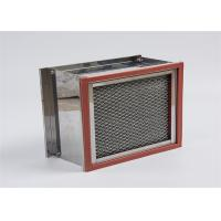 China Box Type House Hepa Filter High Temperature Resistance For Oven Equipment on sale