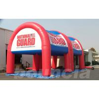 Quality 0.6mm or 0.9mm PVC Tarpaulin Advertising Inflatable Arch Tent Manufacturer wholesale
