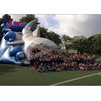 Quality Giant Inflatable Shark Slide 8M Inflatable Sports Games Toddler Outside Toys wholesale