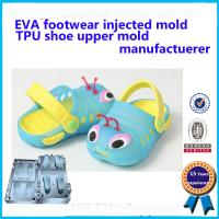 Quality New Arrived PCU PVC Air Blowing Children Slipper Mould For Sale wholesale
