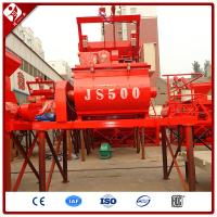 Buy cheap China professional supplier on sale js500 twin shaft concrete mixer price from wholesalers