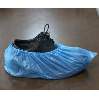 Quality waterproof disposable pe cpe shoe cover in blue or white color wholesale