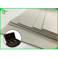 Quality Foldable Cardboard  1.5mm 2.5mm 4mm Sheets Grey Pressed Paperboard For Wine Box wholesale
