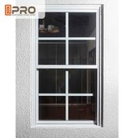 Cheap UV Protection Aluminum Sash Windows ISO Certification With Flexibility Frame for sale