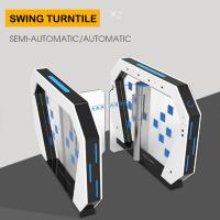 Quality Access Control Turnstile Barrier Gate Rfid Card Reader Security System 50W/24V wholesale