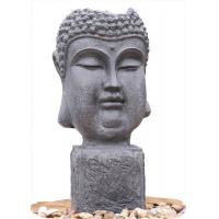Quality Outside Garden Buddha Head Fountain / Asian Outdoor Fountain With CE GS TUV UL wholesale